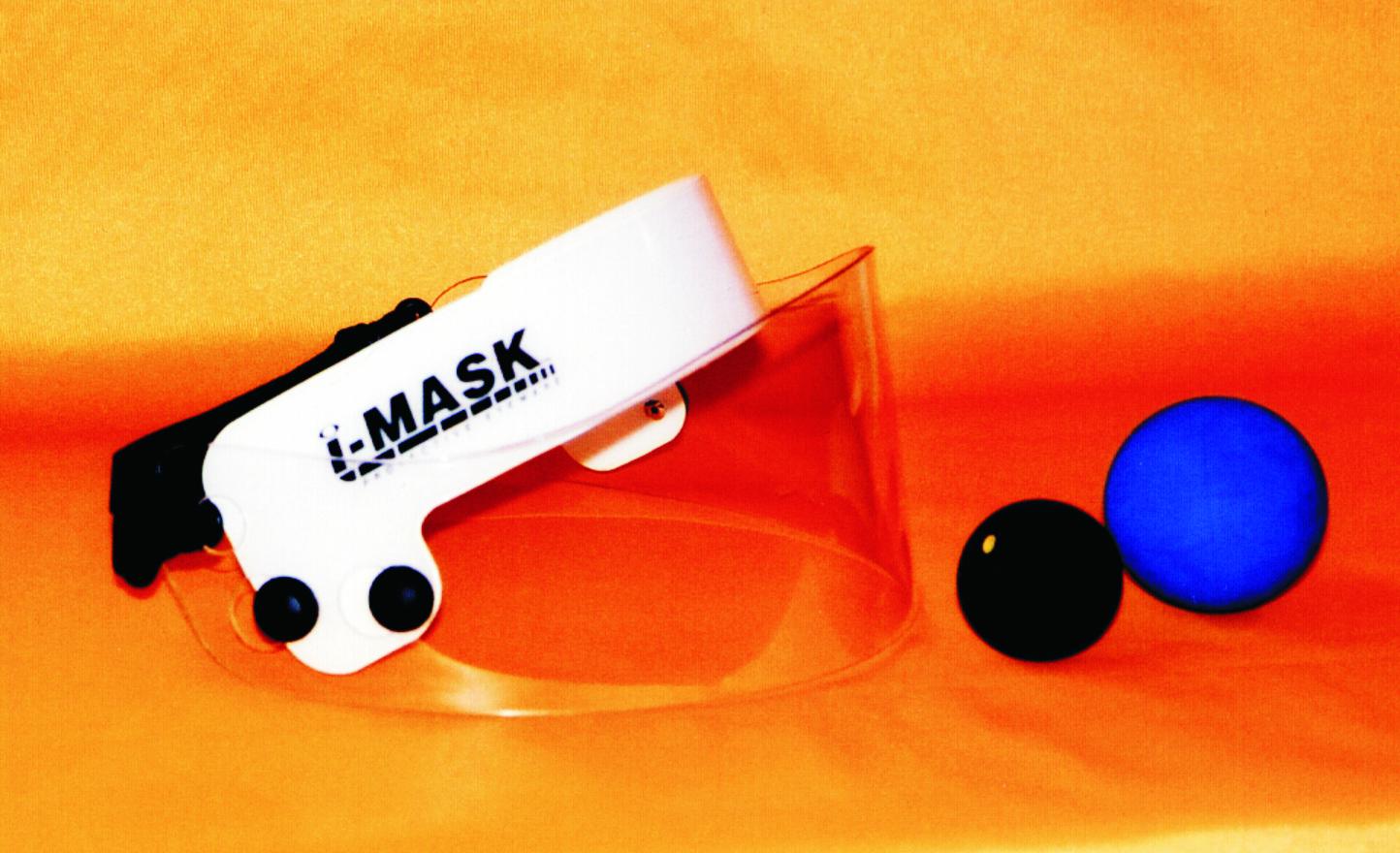 C. i-MASK & 2 balls